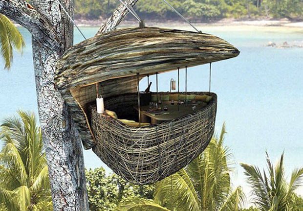 Bird's Nest Restaurant in Thailand