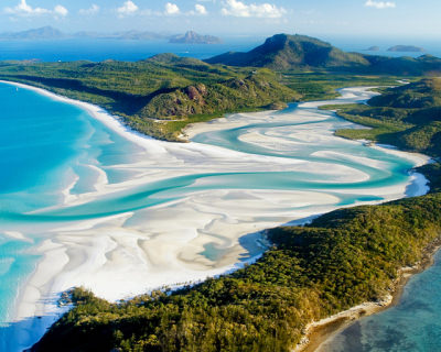 Amazing Whitehaven Beach in Australia