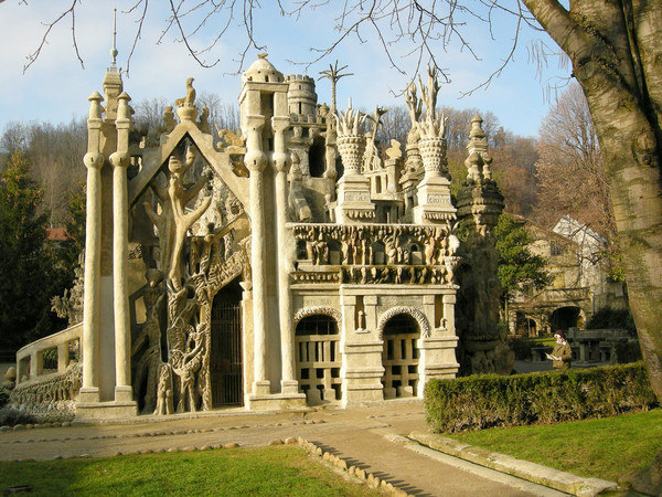 Ideal Palace in Hauterives, France.