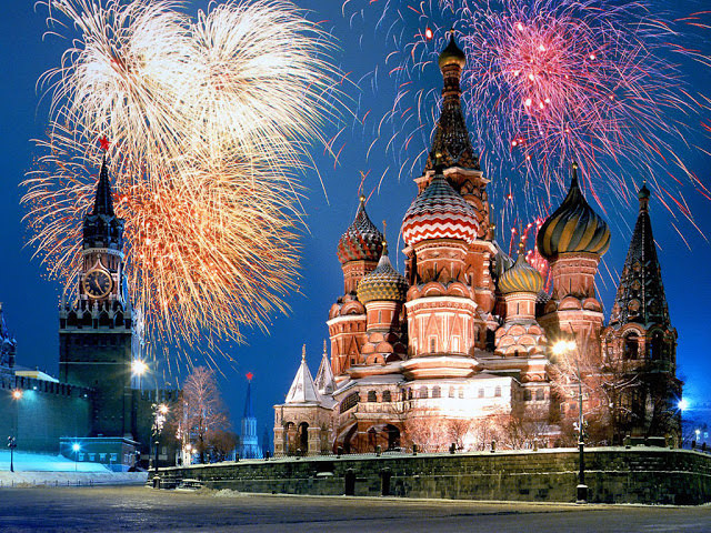 New Years in Moscow