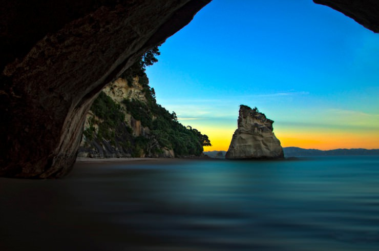 Beautiful Sites at Cathedral Cove Beach