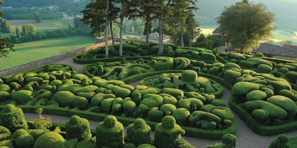Royal Gardens of Marqueyssac in France