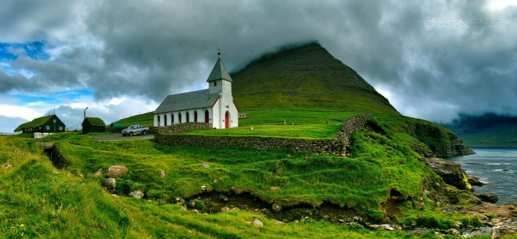 The Faroe Islands.