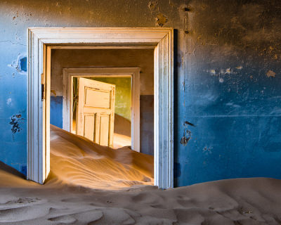 A Ghost Town in Namibia