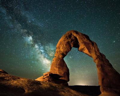 Enigmatic Delicate Arch