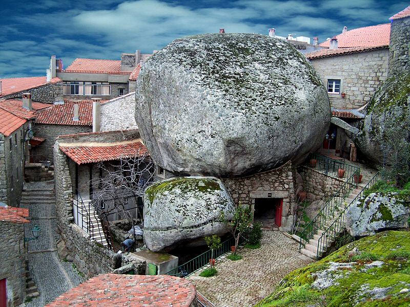 Beautiful Rock Village Monsanto