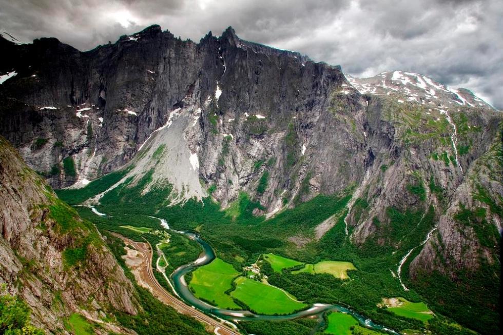 Troll Wall – the Tallest Rock Wall in Europe in Norway