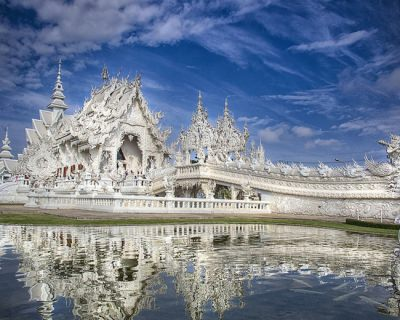 Wat Rong Khun – a Contemporary Sci-Fi Temple in Thailand