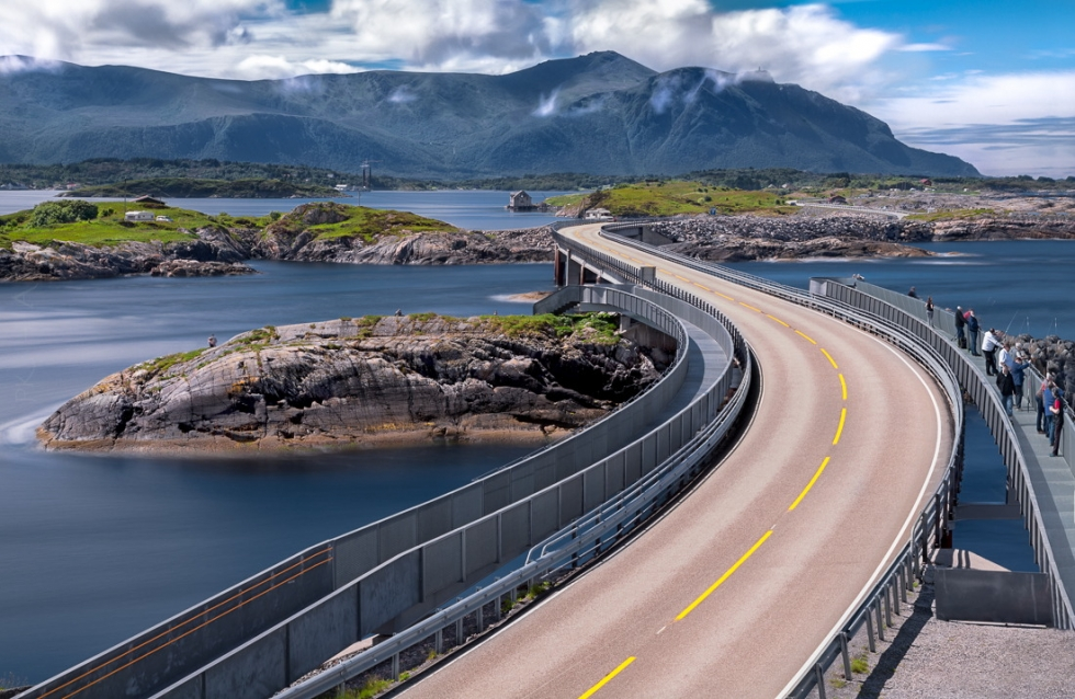 Experience The Atlantic Road Trip in Norway