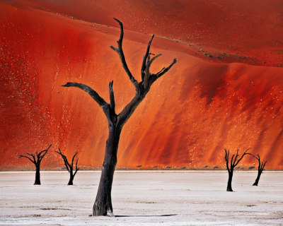 The Picturesque Valleys in Namib Desert in Namibia