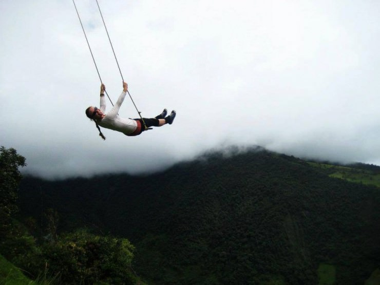 The Wildest Swing in Your Life in Ecuador