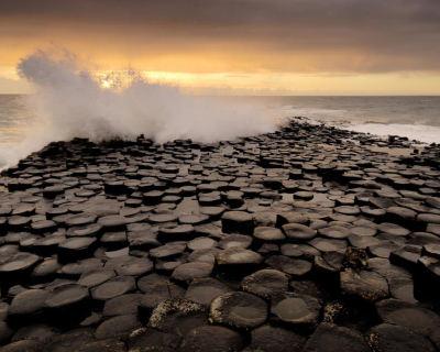 Impressive Giant's Causeway in Ireland