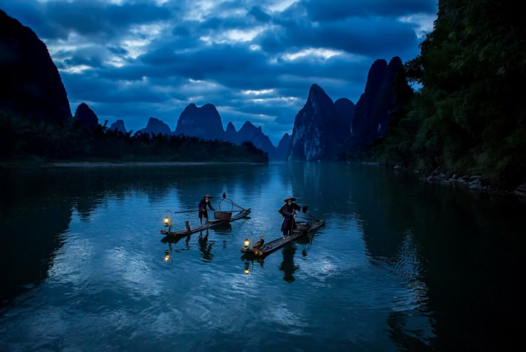 The Poetic Li River Cruise in China