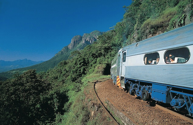The Wild Serra Verde Express Ride in Paraná, Brazil
