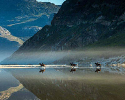 The Unforgettable Horse Riding on a Beach in Noorhoek, South Africa