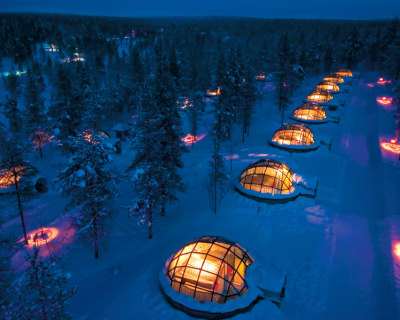 A True Winter Experience in Igloo Village, Finland