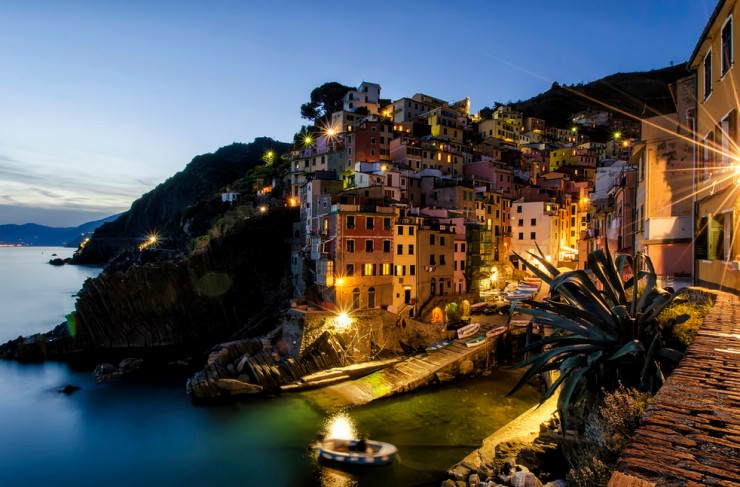 Riomaggiore - First Village of the Five of the Cinque Terre, Italy