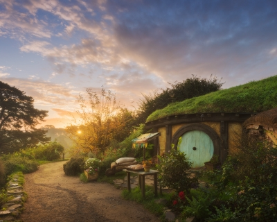 Hobbiton – the Real Hobbit Village in Matamata, New Zealand