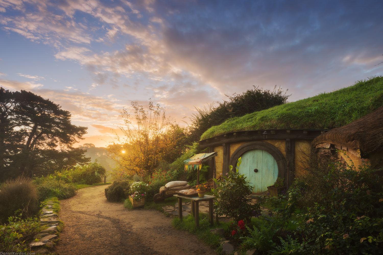 New Zealand Shooting Wallpaper: The Real Hobbit Village In Matamata, New