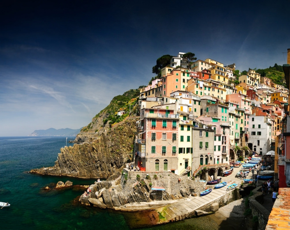 Riomaggiore – First Village of the Five of the Cinque Terre, Italy