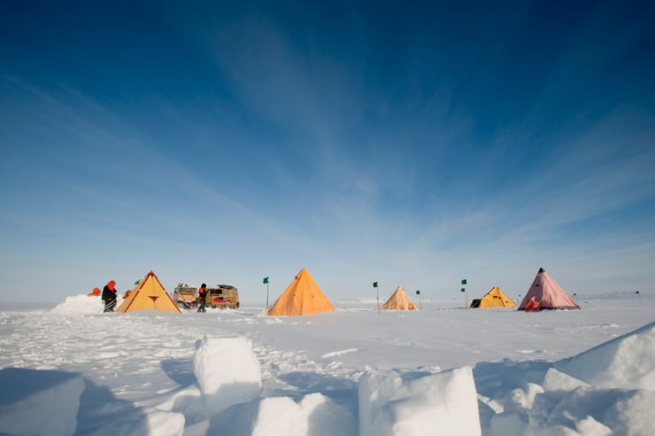 The out of this world experience in mcmurdo sound for Antarctica places to stay