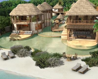 The Relaxing Holiday in Luxurious Soneva Fushi Resort, Maldives