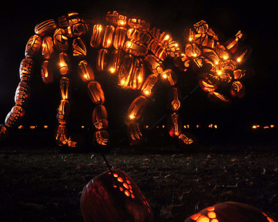 Spooky Pumpkins' Ball in Sleepy Hollow, New York, USA