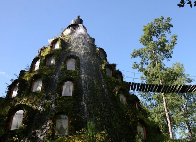 Magic Mountain Hotel - an Artificial Geyser in Nature Reserve, Chile