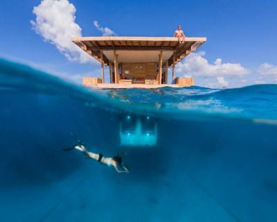 A Unique Stay at The Underwater Hotel in Manta Resort, Zanzibar