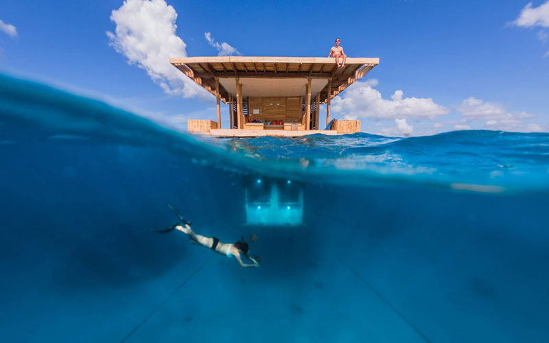 A Unique Stay at The Underwater Hotel in Manta Resort, Zanzibar