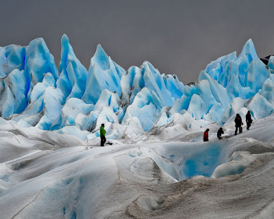 The Breathtaking Views at Perito Moreno Glacier in Patagonia, Argentina