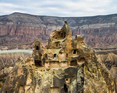 Visit Ancient Derinkuyu Underground City in Cappadocia, Turkey