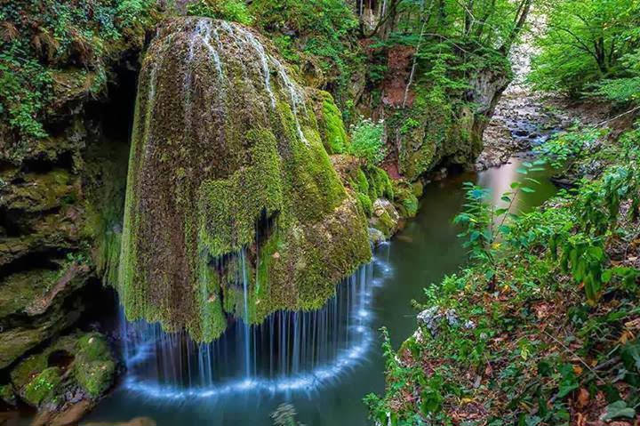 The Most Unique Bigar Waterfall in Nature Reserve, Romania