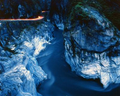 The Marble Canyons in Beautiful Taroko National Park, Taiwan