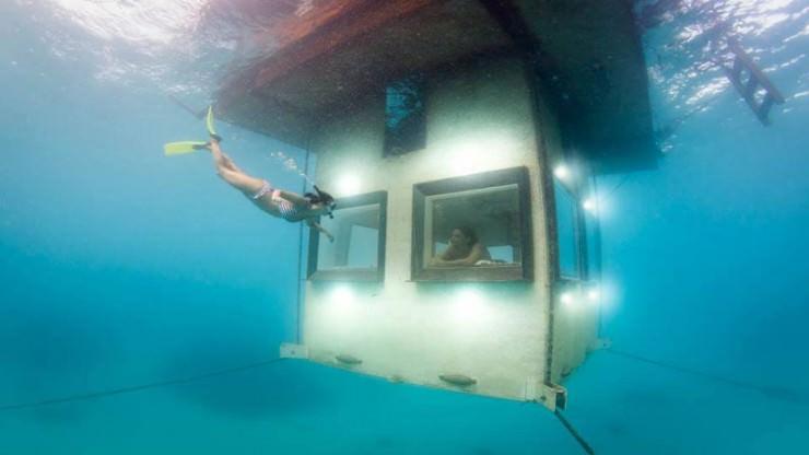 The Unique Stay at Underwater Hotel in Manta Resort, Tanzania