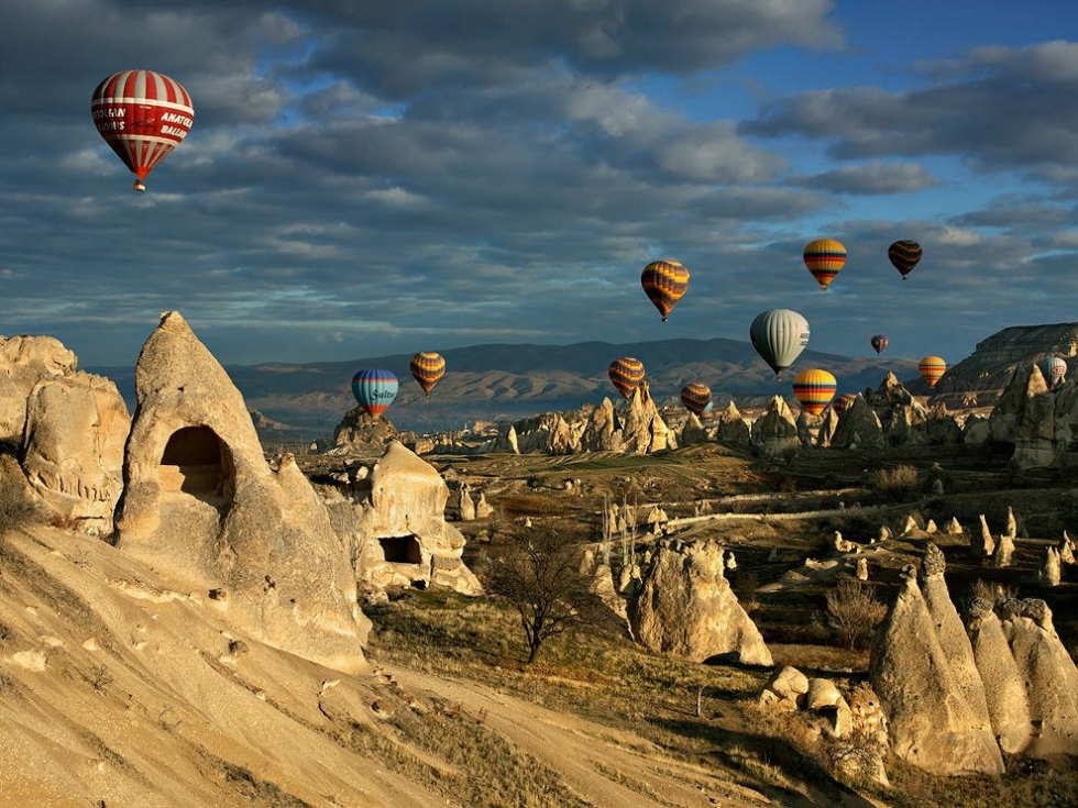 The Best Place to Go Hot Air Ballooning – Cappadocia, Turkey