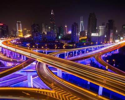 A Futuristic Ride Through Shanghai's Highways, China