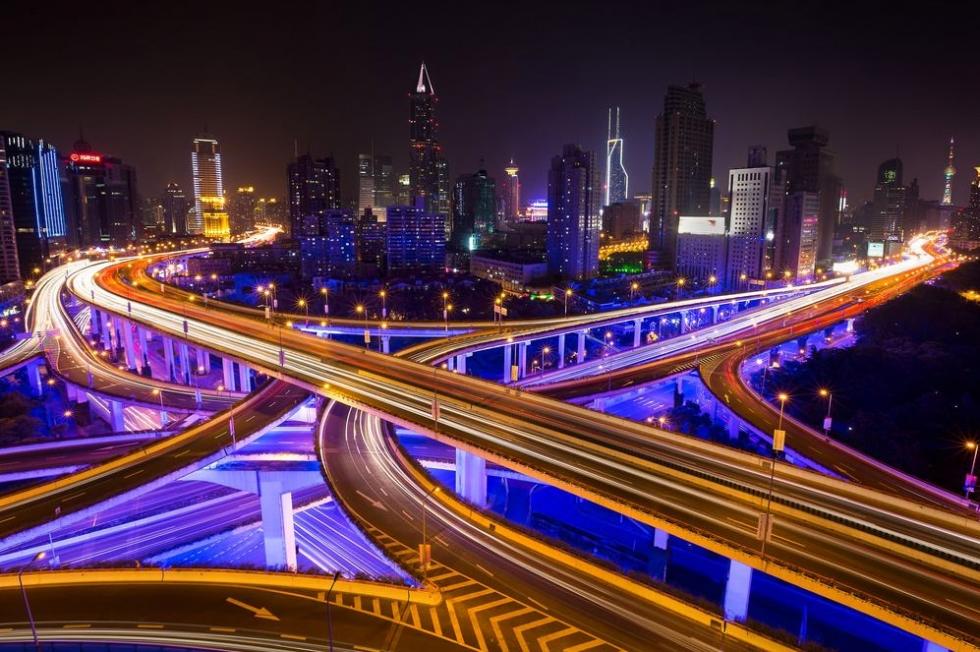 A Futuristic Ride Through Shanghai's Highways, China