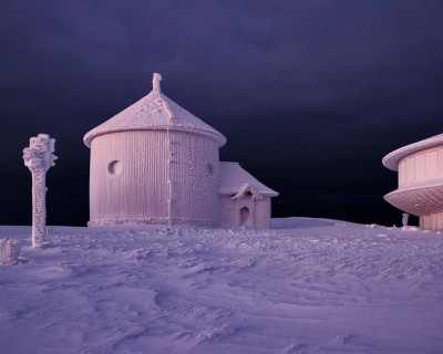 Beautiful Winter in The Karkonosze Mountains, Poland
