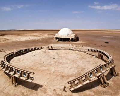 Discover the Star Wars Set of the Planet Tatooine in Tunisia
