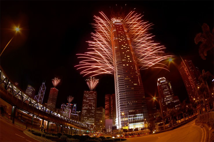 Top New Year's Fireworks Shows