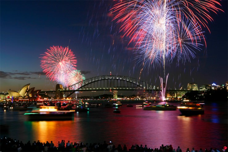 Top New Years Fireworks Shows