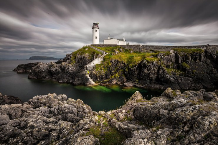 Striking Landscapes, Roman Ruins, Aurora and Winding Roads in Fanad, Ireland