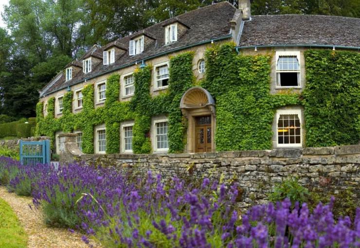 A Postcard Beautiful English Village of Bibury, UK