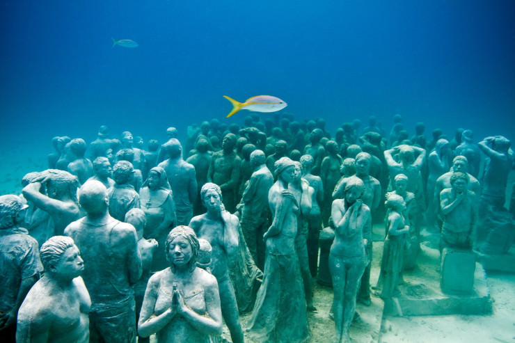 Top 10 Diving Sites-Cancún-Jason deCaires Taylor