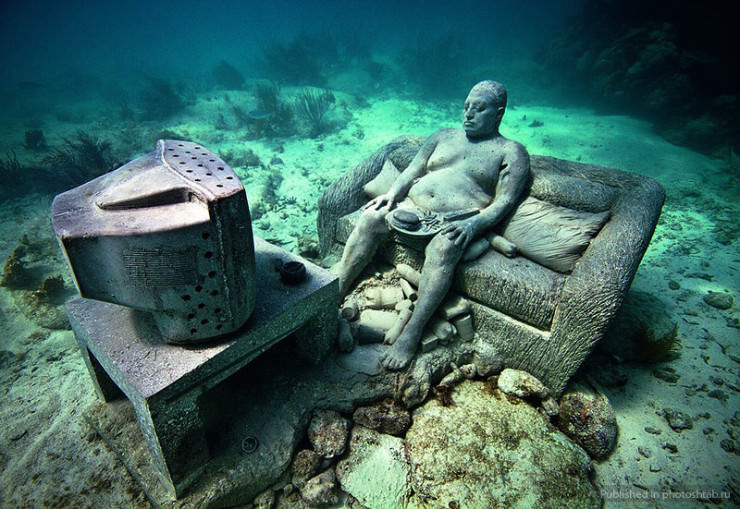 Top 10 Diving Sites-Cancún-Jason deCaires Taylor3