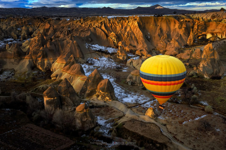 Top 10 Hot Air Ballooning-Cappadocia-Photo by Anuparb Papapan