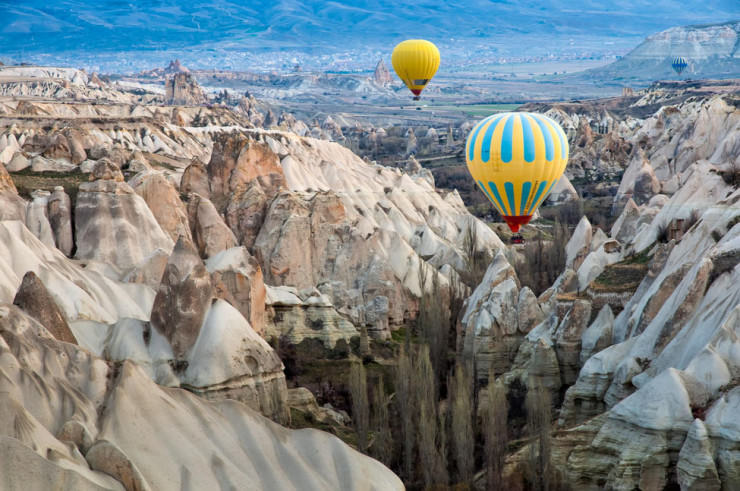 Top 10 Hot Air Ballooning-Cappadocia-Photo by  Natapong P