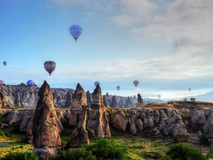 Top 10 Hot Air Ballooning-Cappadocia-Photo by Vitaly Afanasyev
