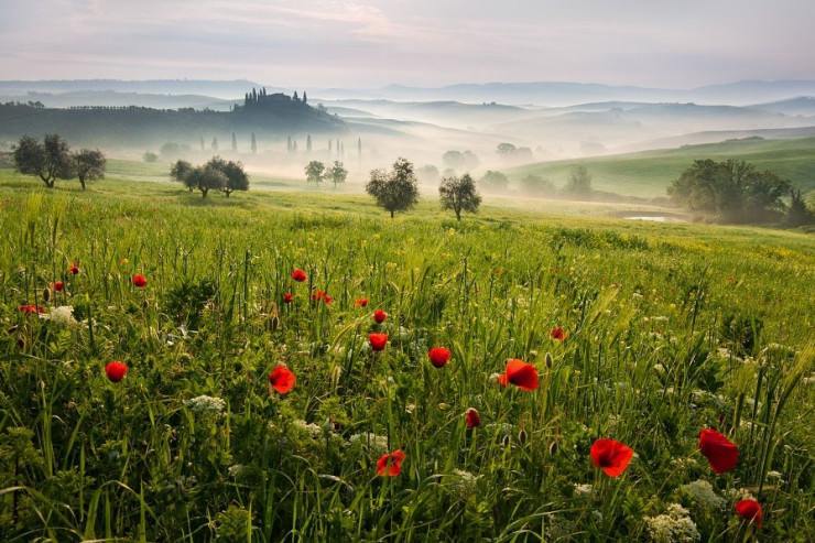 Top 10 Hot Air Ballooning-Tuscany-Photo by Daniel Řeřicha